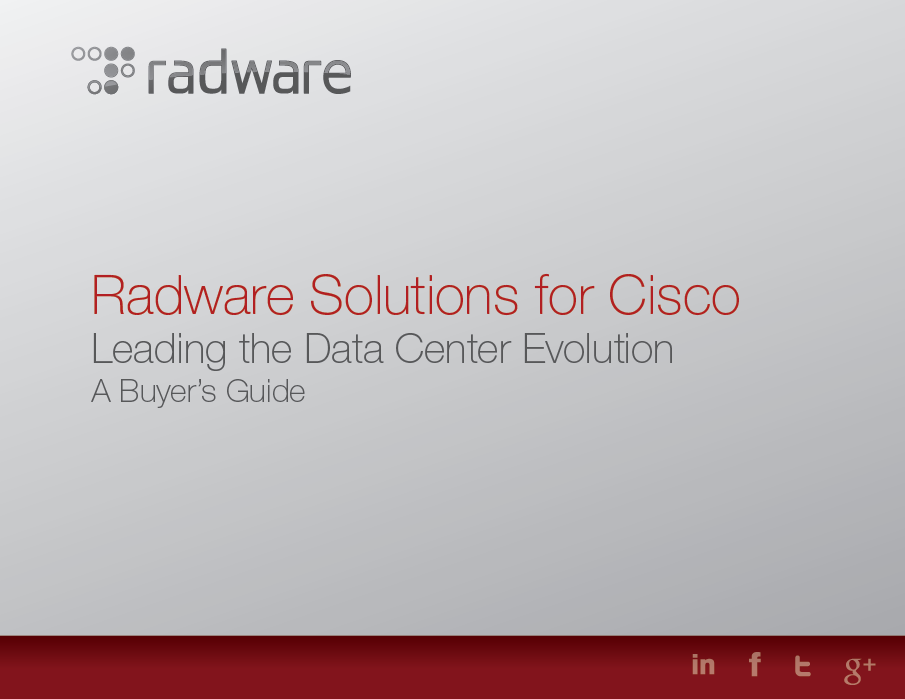 radware for cisco